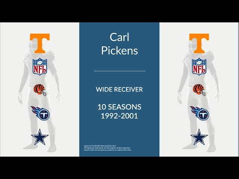 Carl Pickens: Football Wide Receiver