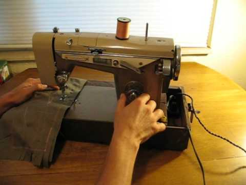 Precision Built Made In Japan Sewing Machine Video For Ebay Listing Delectable Morse 6300 Sewing Machine Manual