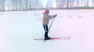 Обычный Урок физкультуры в Виляйской средней школе