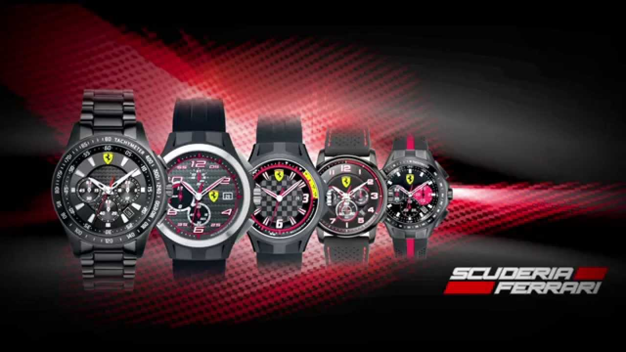 inter mens day black watch ferrari cropped watches red scuderia p class first irl corsa race