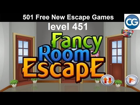 [Walkthrough] 501 Free New Escape Games Level 451 - Fancy Room Escape - Complete Game