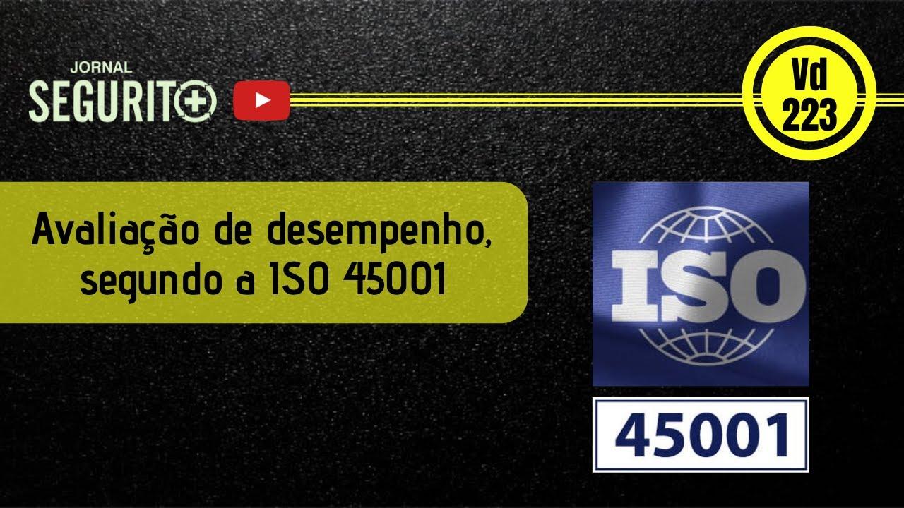Vd.223 - Avaliação de desempenho, segundo a ISO 45001