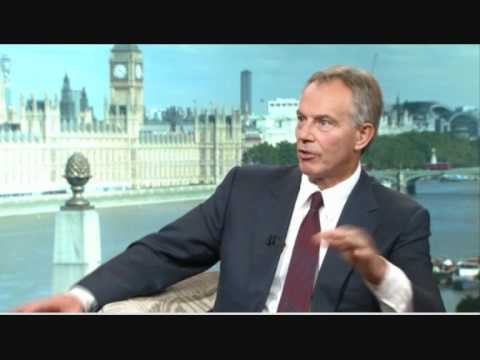 Tony Blair admits to illegal war