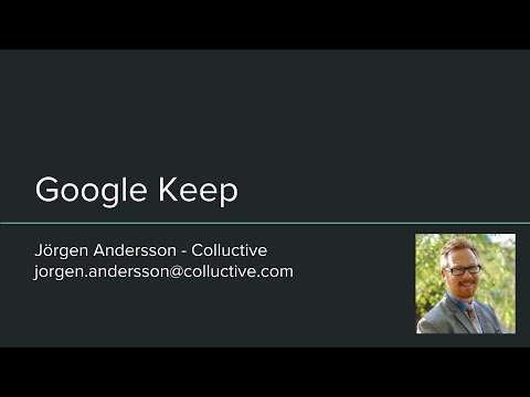 How to use Google Keep   Full Tutorial   Swedish
