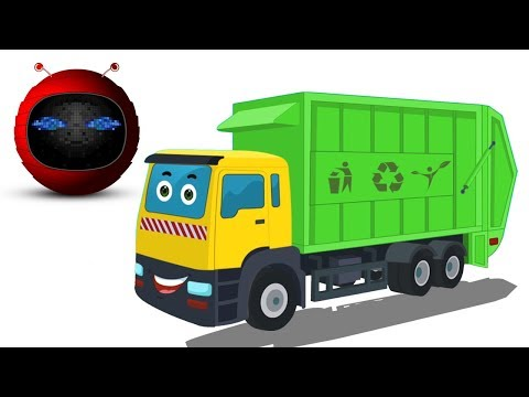 Camion à ordures | Formation et utilisations | Kids Vehicle | Formation and Uses | Garbage Truck