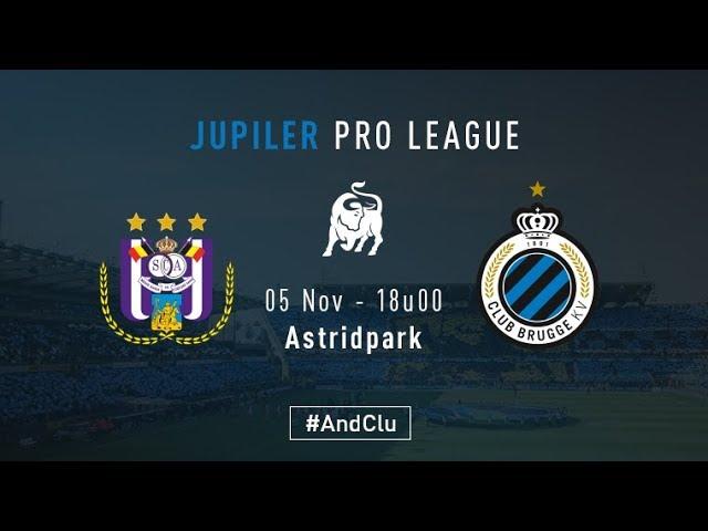 ANDERLECHT - CLUB BRUGGE | Matchverslag | 2017-2018
