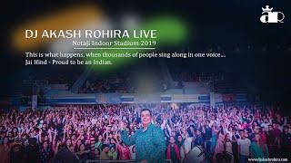 Dj Akash Rohira Live   Netaji Indoor Stadium - Taaza Dandiya 2019