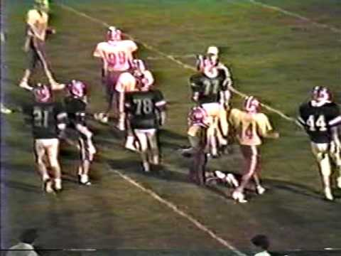1987 John Hancock Academy Rebels at Barnesville Academy Warriors football