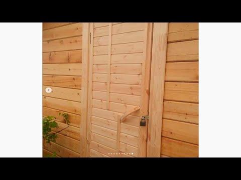 ✅ Деревянная дверь своими руками  Wooden Door Diy From The Remains Of Boards Brettertür Diy