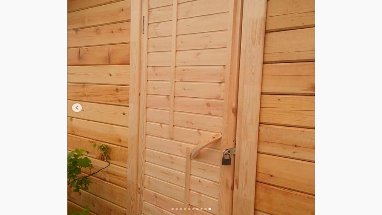 ✅ Деревянная дверь своими руками | Wooden door diy from the remains of boards | Brettertür diy