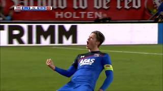 Wout Weghorst vs FC Twente - AZ Alkmaar Video's