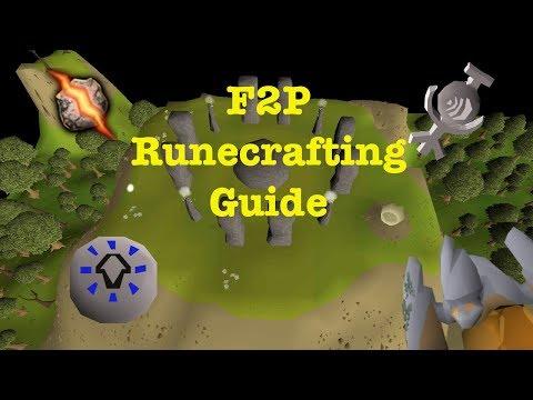 Old School RuneScape - F2P Runecrafting Guide - 2019