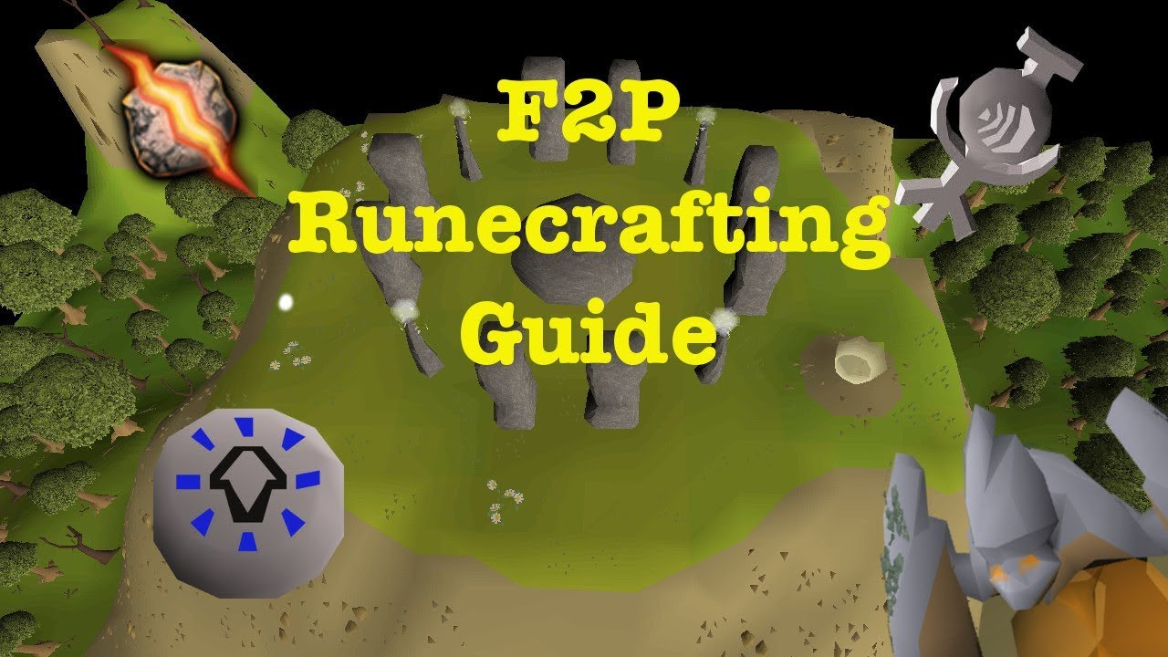 OSRS 1-99 F2P Runecrafting Guide