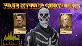 FREE New Mythic Survivors | Fortnite Save The World Pve
