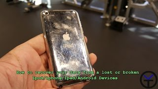 Recover your data from a lost or broken Ipod/iphone/Ipad/Android Devices