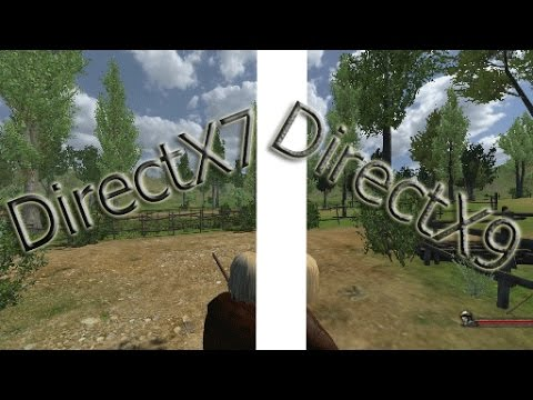 Mount and Blade Warband: Low DirectX 9 vs Max DirectX 7