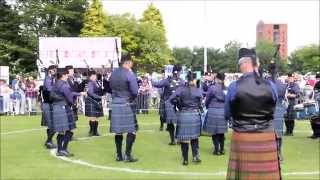 Scottish Championships 2015 - Grampian Police Pipe Band