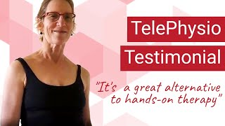 TelePhysio Testimonial with Beth K