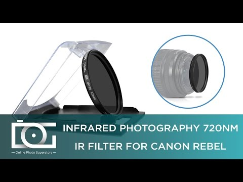 IR FILTER TUTORIAL | How to Work With an Infrared Filter 720NM for Canon, Nikon and Other DSLR