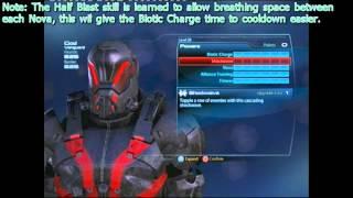 Mass Effect 3 || Nova Vanguard Build