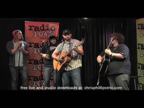 Kings of Leon  Use Somebody  Chris Phillips Trio  Acoustic cover  104.5  live