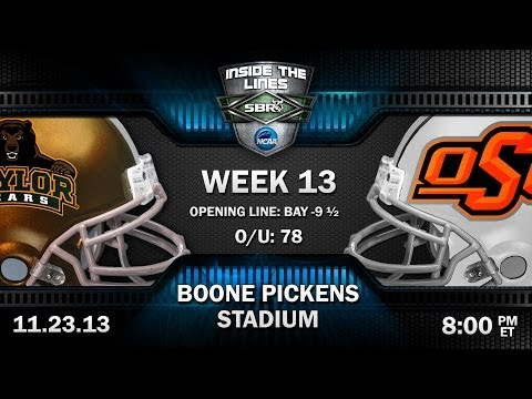 Baylor Bears vs Oklahoma St Cowboys Preview: Big 12 College Football Picks w/ Troy West, Loshak