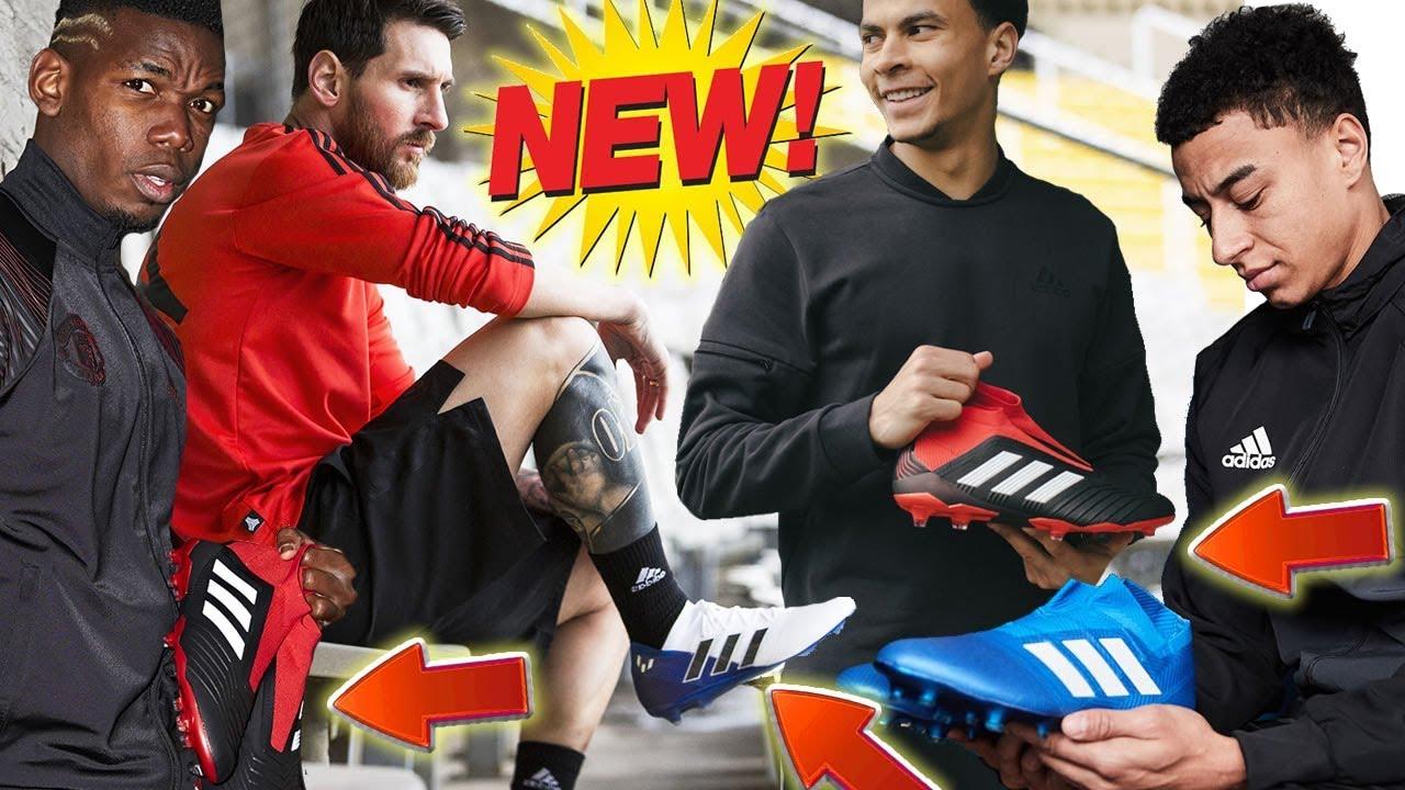 Messi, Alli, Pogba, Ozil, Salah, Bale & Lingard's New Boots! 🔥 TEAM MODE