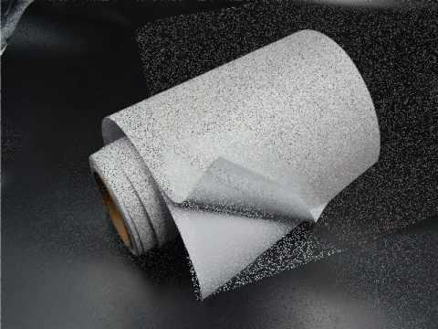 adhesive waterproof semi glossy sticker paper with certificates
