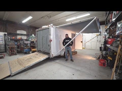 2006 Thule Cargo C65x12 Aluminum Generational Trailer