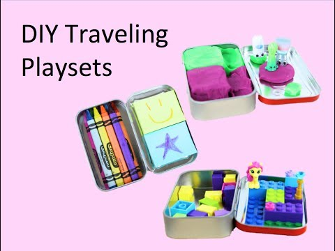 DIY Traveling Playsets