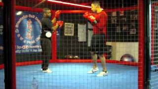 Darren Richardson Kickboxing padwork