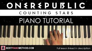 How To Play OneRepublic - Counting Stars Piano Tutorial Lesson.mp3