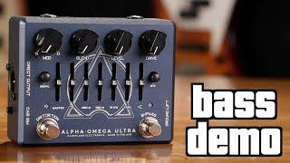 Darkglass Alpha Omega Ultra Bass Demo