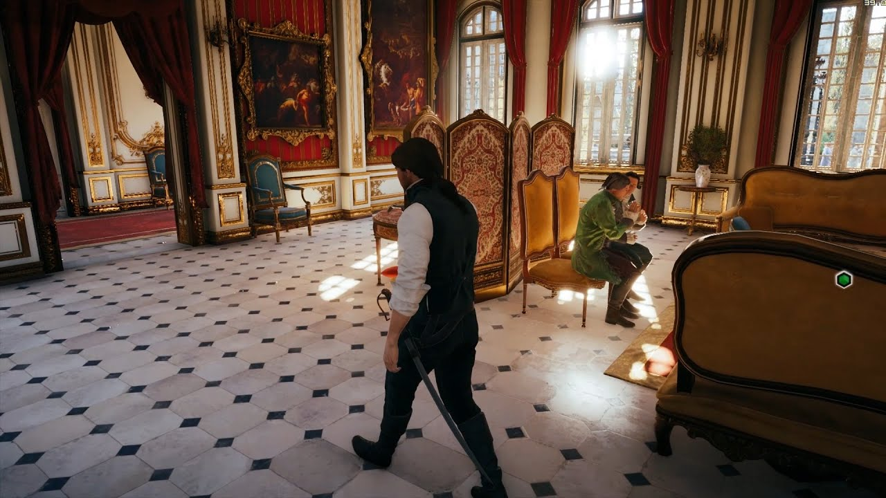 Assassinu0027s Creed Unity Incredible Interior Lighting & Assassinu0027s Creed Unity Incredible Interior Lighting - YouTube