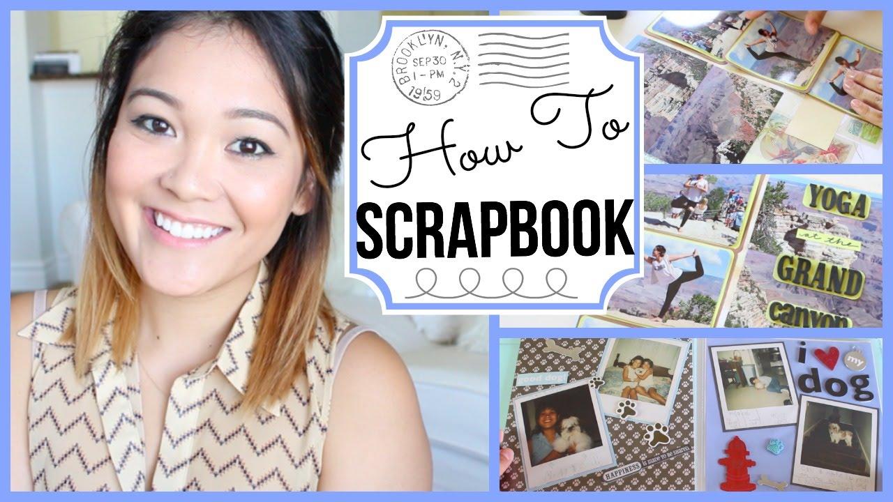 How to scrapbook jaaackjack