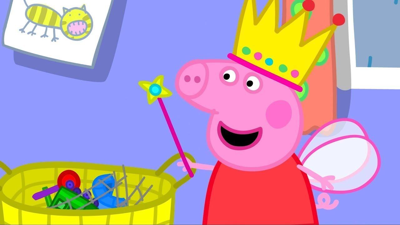 Peppa Pig | Richard Rabbit Oynamak için Geliyor | Programının en iyi bölümleri |  En iyi bölümler