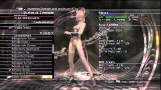 "「Lightning Returns: FF13」 Day 01-01 ~ ""Preparing for NG+"" (Full Gameplay)"
