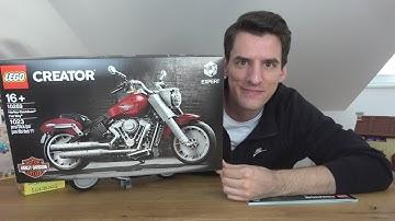 Das erste Motorrad in der LEGO® Creator Expert-Reihe: 10269 Harley-Davidson Fatboy