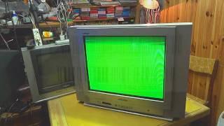 Ta'mirlash TV DAEWOO KR2134FL. TV texnik kurslar.