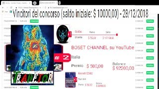 Strategie Opzioni Binarie ALTAMENTE PROFITTEVOLI...BOSET N°1 in ITALIA e N°2 al MONDO!!!