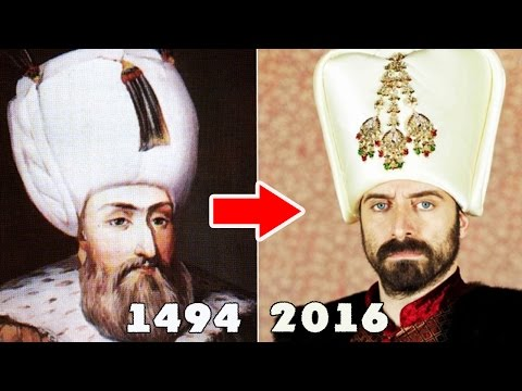 Как в РЕАЛЬНОСТИ выглядели Султан Сулейман, Хюррем в сериале великолепный век?