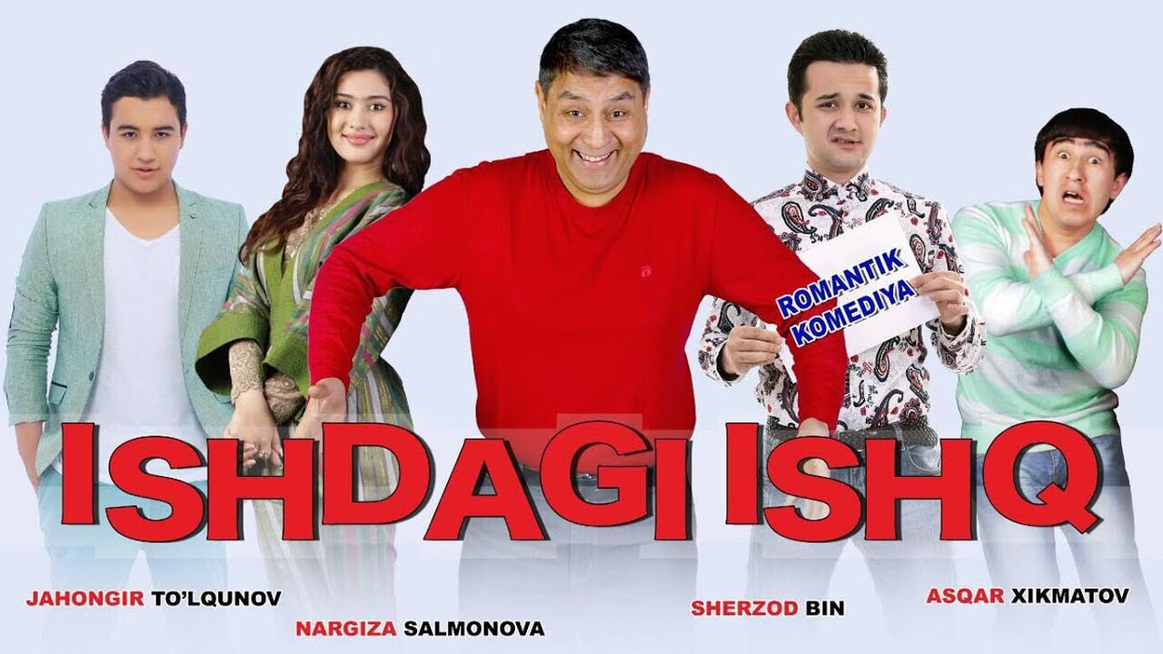 ишдаги ишк фильмы узбекча онлайн