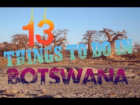 Top 13 Things To Do In Botswana