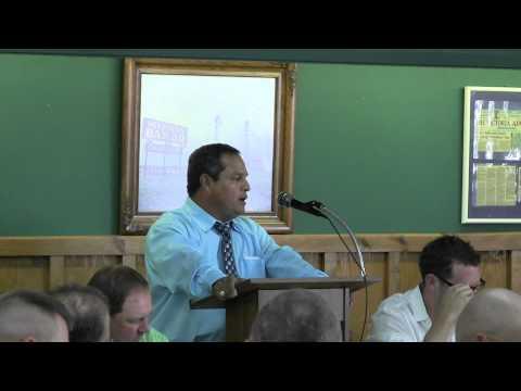 Coach Danny Villanueva - Louise High School TX - Wharton County Coaches Luncheon