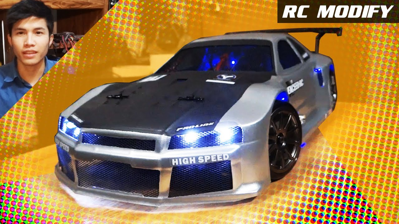 Rc Modify Nissan Skyline Gtr Youtube