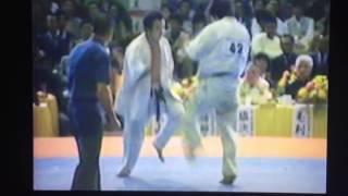 極真アーカイブス 第15回 全日本 3回戦 中村金四郎 vs 辻原和秀