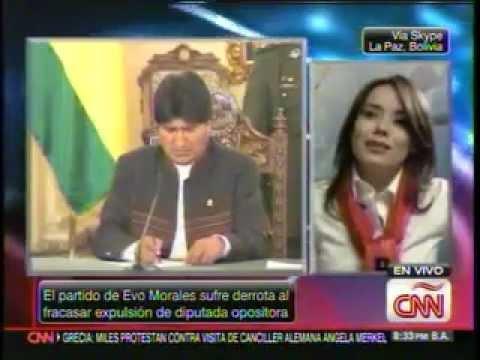 ENTREVISTA DE ADRIANA GIL EN CNN (9/10/2012)