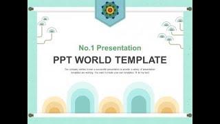 종이 한지 PPT 템플릿 심플한 전통문양(자동완성형포함…