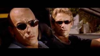 The Fast and the Furious(2001) Ferrari vs Toyota Supra DRAG RACE