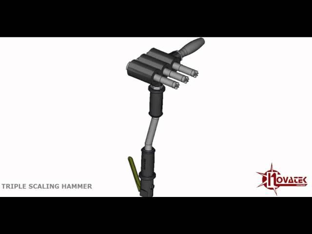 HD Triple Scaler- Long Handle